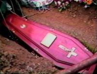 Cercueil rose