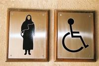 Toilettes réservés