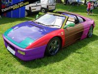 Ferrari multicolore