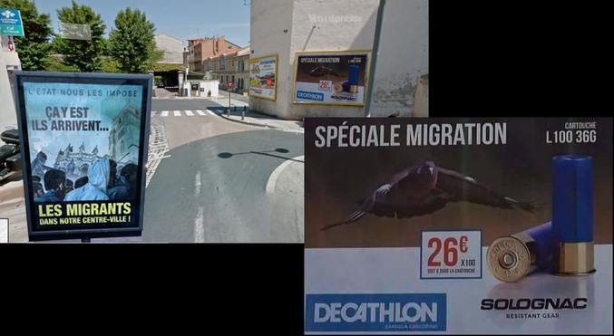 Quand Decathlon fait de la pub ciblée à Béziers