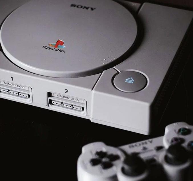 La première PlayStation sortait.