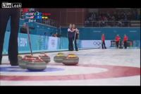 Les objectifs du curling par Sir David Attenborough