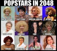 Les stars de la pop en 2048