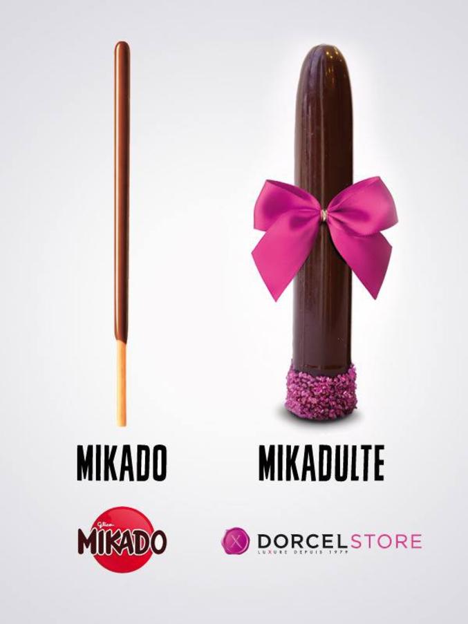 ... au Mikadulte, ça reste un gros succès pour toutes les gourmandes !