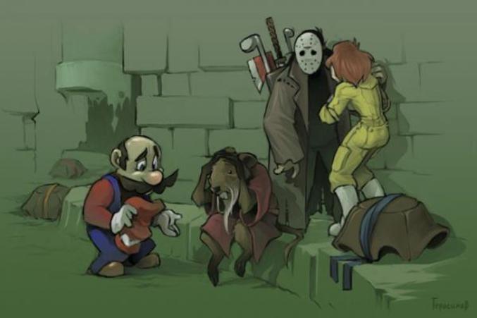 Mario a fait une petite bévue...