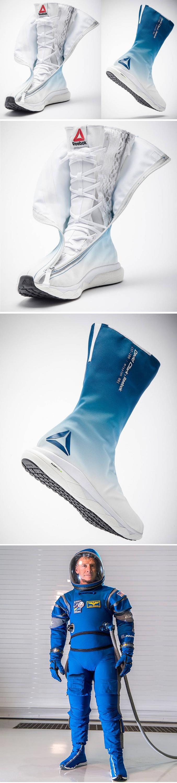 La marque Reebok vient de dévoiler les SB-01, une paire de sneakers spécialement conçue pour les astronautes, qui testent actuellement ces chaussures ! Ces sneakers futuristes et ultra-légères sont conçues pour les missions spatiales, et équiperont bientôt les astronautes à bord de la Station Spatiale Internationale. Cette nouvelle vision de la botte spatiale, qui n'a pas été modernisée depuis 50 ans, est née d'une collaboration entre Reebok et David Clark, spécialisé dans l'aéronautique. À moins de devenir, astronaute, n'espérez pas mettre la main sur ce nouveau modèle Reebok SB-01 !