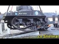 "Restauration d'un tank Sherman M4A2 ""Montereau"""