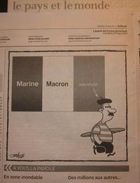 Caricature canadienne française, Post-ÉlectoRAT français