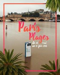 Paris plages 2016
