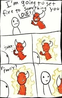 Satan bouche un coin ?