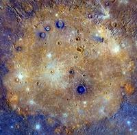 La surface de Mercure
