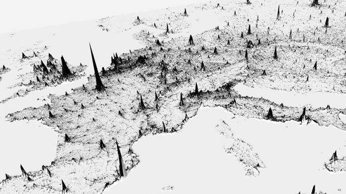 Vous pouvez voir le reste du monde ici https://pudding.cool/2018/10/city_3d/