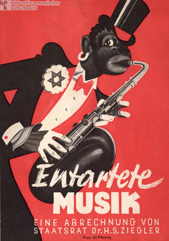 Une affiche visée par Goebbels.