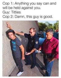 Nos droits lors d'une arrestation