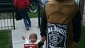 Papa et fiston pour Halloween