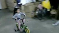 Créneau en vélo