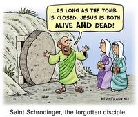 Saint Schrödinger, le saint oublié