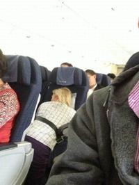 Comment dormir dans un avion