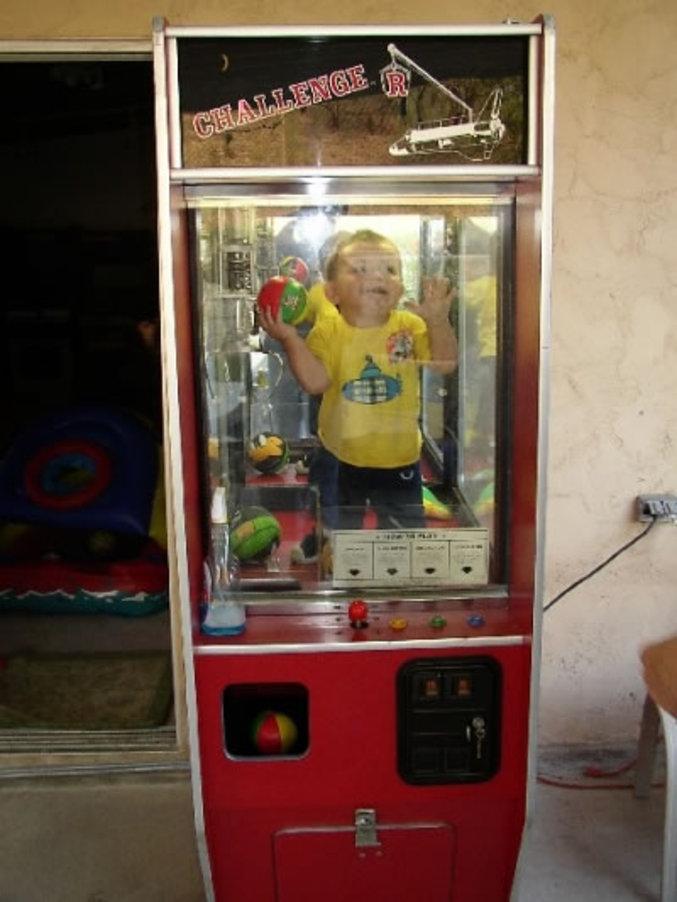 Un enfant avait décidé qu'il gagnerait par tous les moyens.