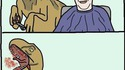 Avoir un vélociraptor en coiffeur