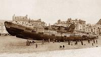 Les cochonneries rejetées par la mer sur les plages...