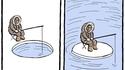 Le réchauffement climatique en 2 images