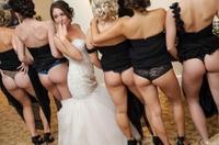 La mariée est plus timide