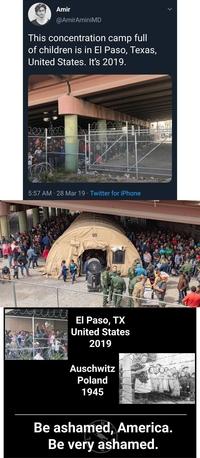 Les internautes américains réagissent aux camps d'internement...