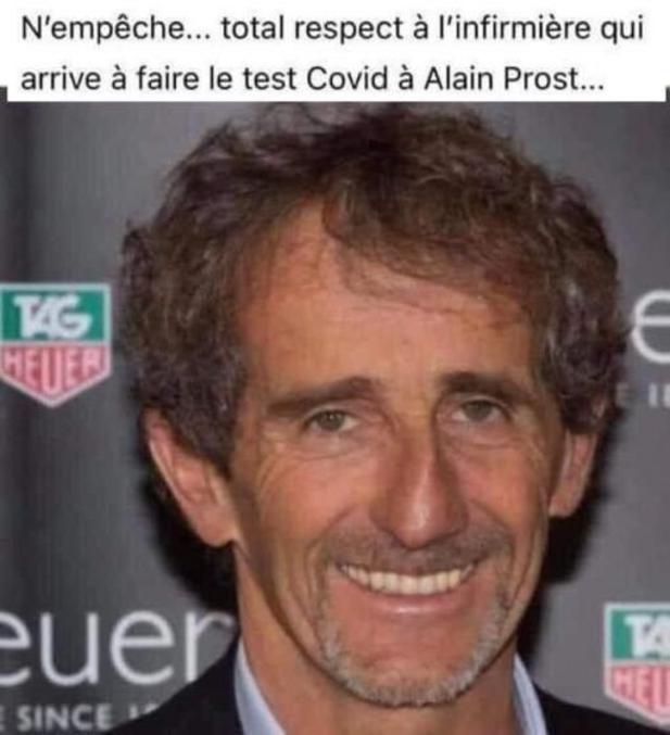 Ça reste le pro en négociation de virages, du coup on peut dire qu'il a le nez F1 ?