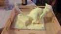 Sculpture dans du beurre
