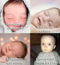 Le sommeil du bébé