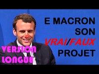 """Il y a 1 an Macron dévoilé son ambitieux programme (6'20"""")"""