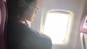 Et moi qui aime regarder par la fenêtre pendant le vol