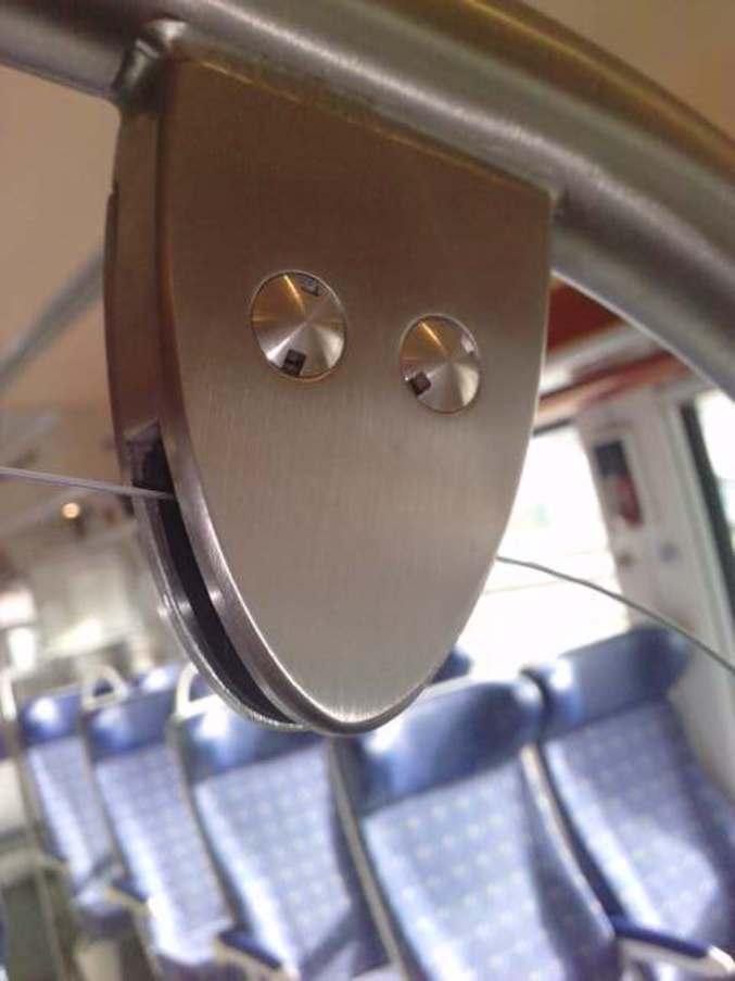 Même dans les trains.