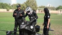 Test d'une moto volante par la police de Dubaï