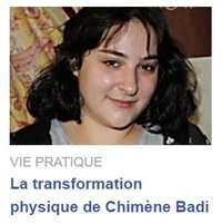 Transformation de Chimène Badi