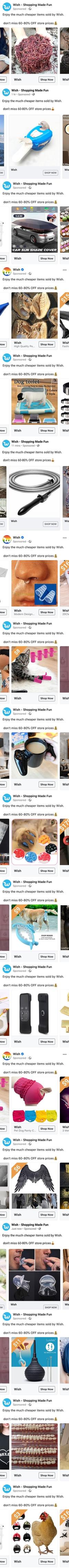 On trouve de tout sur Wish !