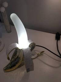 Lampe banane