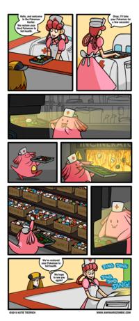 Les centres Pokémon