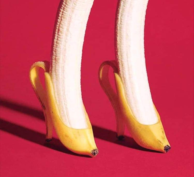 ...ou bananes chaussures !