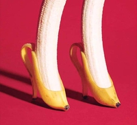 Chaussures bananes...