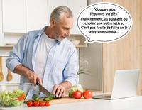 Coupez vos légumes en dés