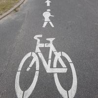 Piste cyclable réservée aux vélos et au Bossu de Notre-Dame ?