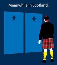 Toilettes en Écosse