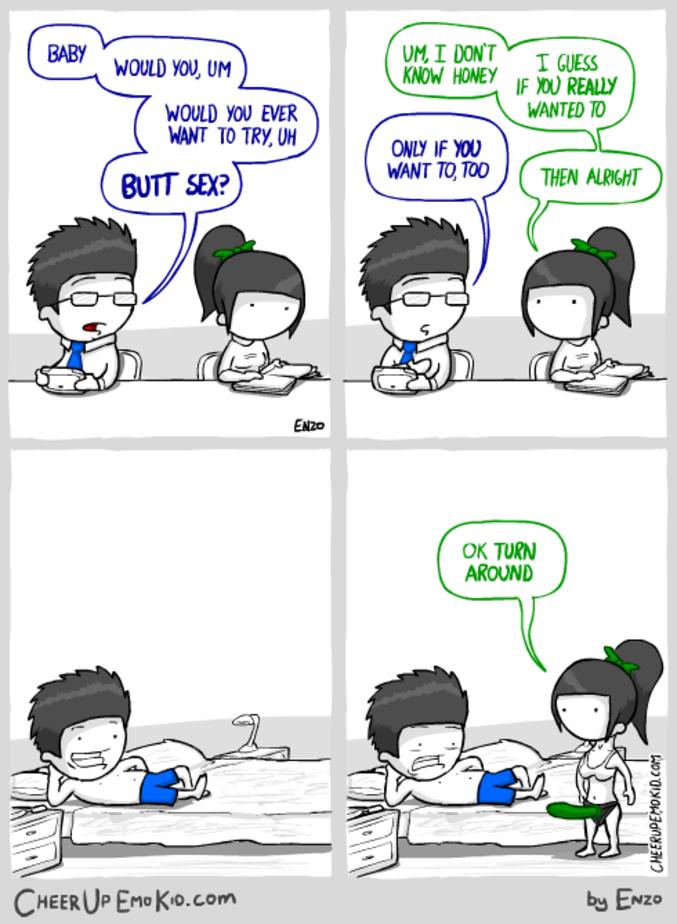 Traite les autres comme tu voudrais être traité  source: http://www.cheerupemokid.com/comic/communication