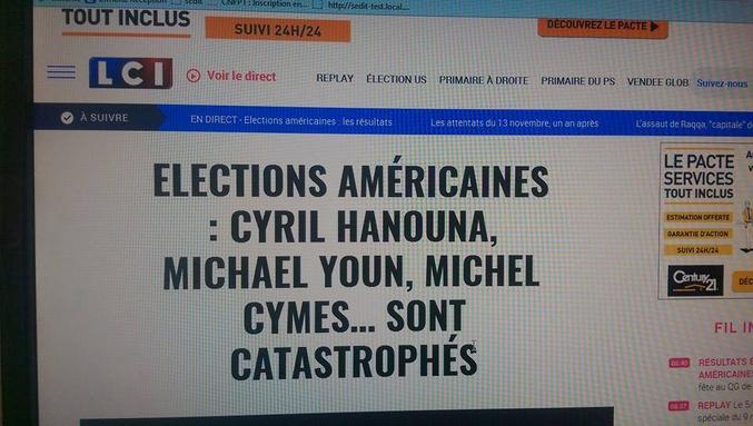 La chaîne d'information de TF1 recueille les avis éclairés de nos plus grands penseurs.