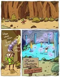 Link prend son bain de minuit