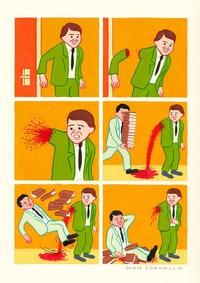 Sacrée flaque de sang !