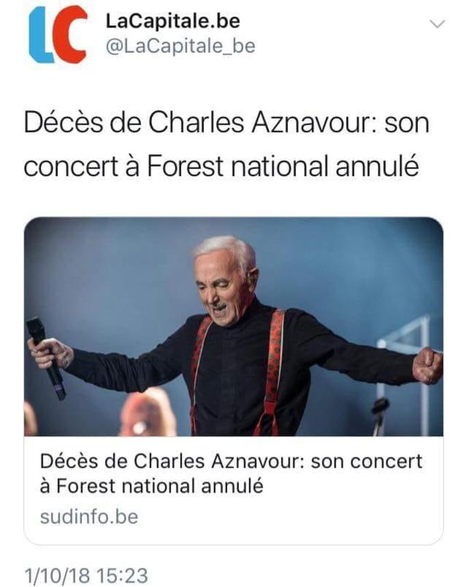 Mesdames et Messieurs, la presse belge !
