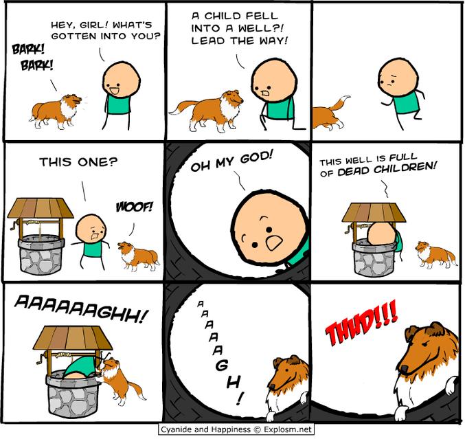 chien fidèle !